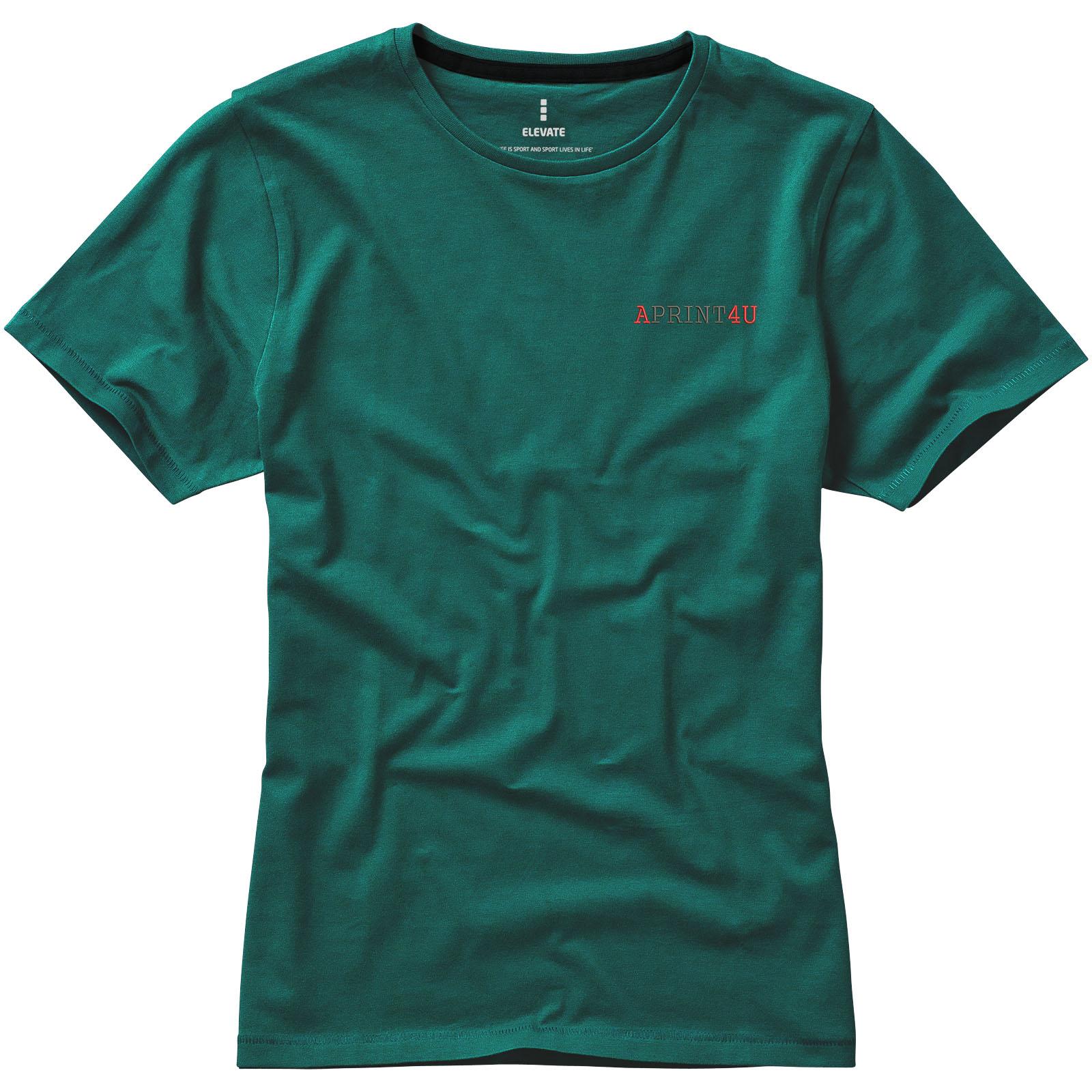 Elevate Nanaimo kortermet t skjorte for kvinner | Vistaprint