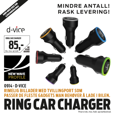 Ring Car Charger