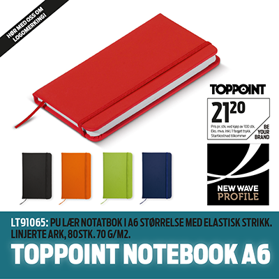 Topping Notebook A6