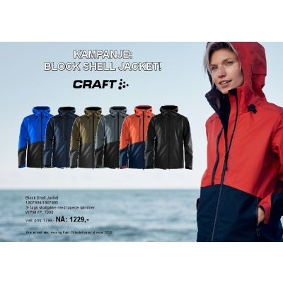 Craft, Block Shell jacket