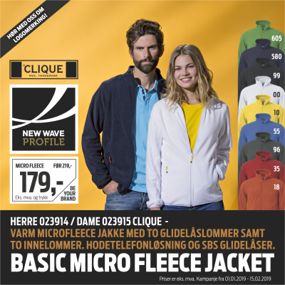 Månedens kampanje - Basic Micro Fleece Jacket