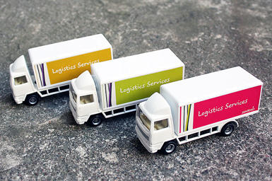 Sodexo mini trucks