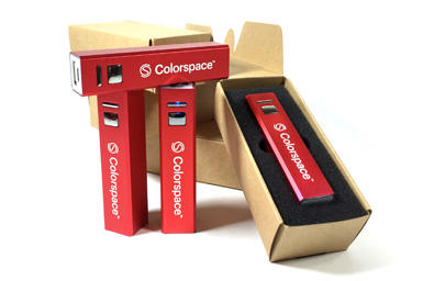 Sciss Colorspace Powerbanks